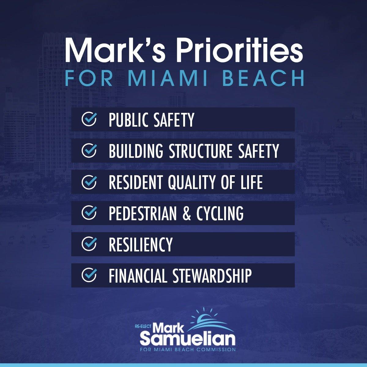 Mark's Priorities
